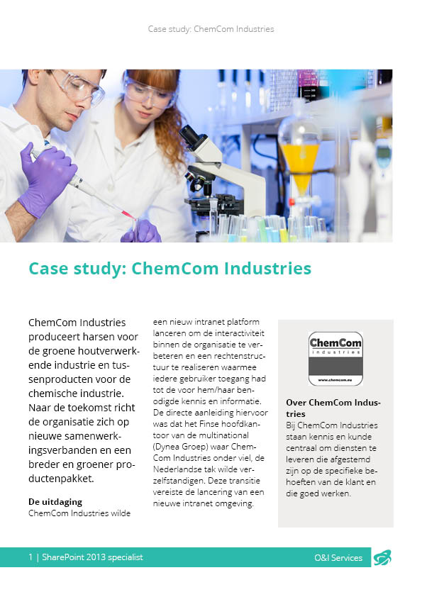 Case study ChemCom Industries
