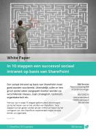 In 10 stappen een succesvol sociaal intranet op basis van SharePoint - O&I Services