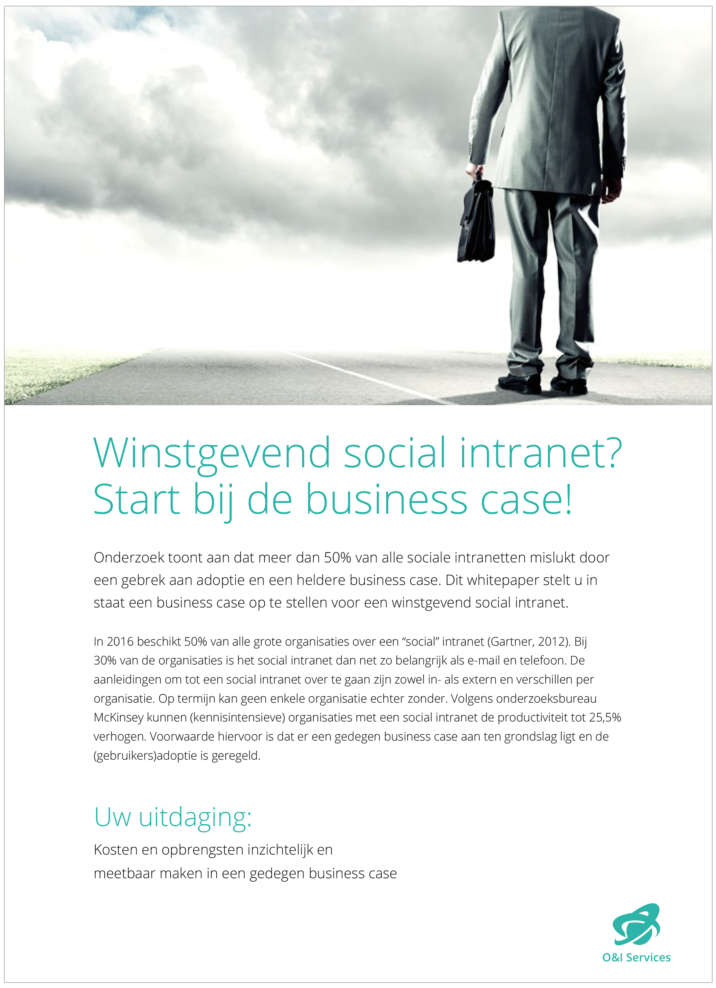Winstgevend social intranet? Start bij de Business Case